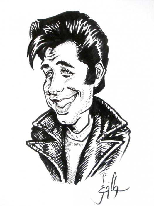 John Travolta by Tonio